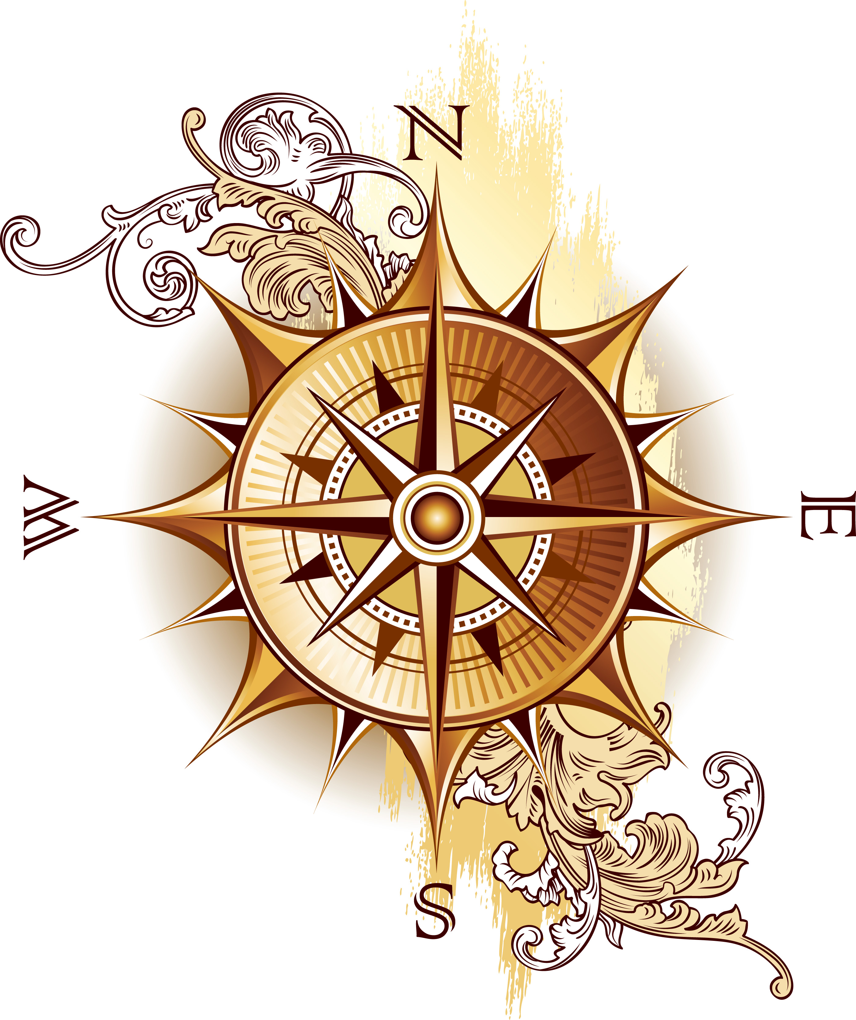 Antique compass drawing png images for Free online drawing